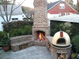 backyard outdoor fireplace plans 25 gallery attachment