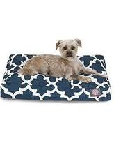 majestic pet beds. Majestic Pets Trellis Rectangle Pet Bed, Small (Navy) Beds