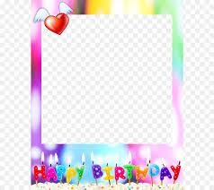birthday cake happy birthday to you party wish birthday frame