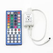 rgbw rgbww led strip light 44 key ir remote controller 12v 2a sound activated controller for rgbw rgbww led light strip lamp