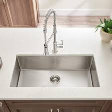 deep stainless steel sink. Victorian Kitchen Sink Commercial Stainless Steel Vintage Deep Undermount