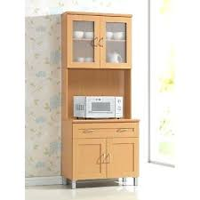 microwave cabinets with hutch tall microwave cabinet stand hutch pantry cart storage cupboard kitchen brown homcom 71 buffet server microwave storage