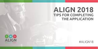 Align Awards Tips For Completing The Application