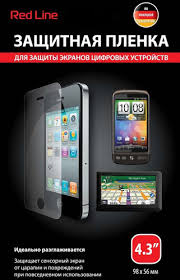 <b>Защитные пленки</b> для телефонов <b>RED</b> LINE – купить защитную ...