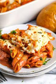 creamy tomato pasta bake quick easy