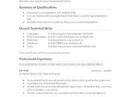 Objective Job Resume Pohlazeniduse