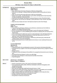 Sales Position Resume Examples Resume Examples For Retail Sales Position Resume Resume