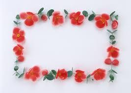 red rose wedding valentine day love frame background