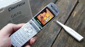 Pantech G670 - The first phone with ...