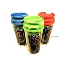 Design Your Own Thermos Mug Pack Of 3 Design Your Own Travel Mugs With Sealed Lids