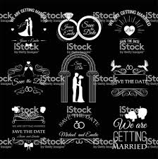 Wedding Set Dress Couple Ring Invitation Bride Card Heart Groom