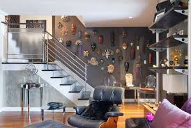 stairway walls decorating ideas