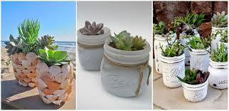 20+ DIY Mason Jars Flower Pots