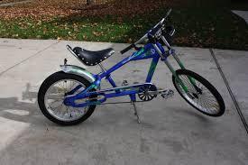 nos schwinn stingray 3 speed chopper bicycle boy s 20 blue ebay