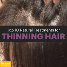 natural treatments for thinning hair dr axe