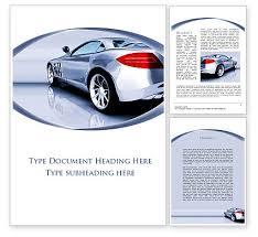 Word Cars Sports Car Design Word Template 09643 Poweredtemplate Com