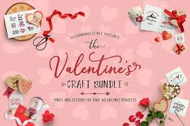 80+ vectors, stock photos & psd files. The Valentines Craft Bundle Design Bundles