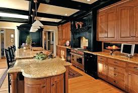 honey oak kitchen cabinets honey oak kitchen cabinets traditional with black makeover pertaining t honey oak