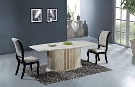 natural travertine dining table set high quality natural marble dining furniture table set best home
