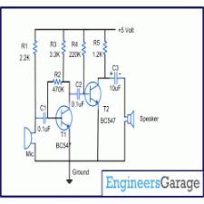 circuit diagram for audio amplifier audio amplifier circuit diagram electronic circuits audio amplifier circuit