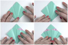 Paper Flower Folding Make An Easy Origami Lily Flower