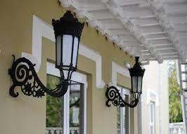 decorative large cast iron bracket