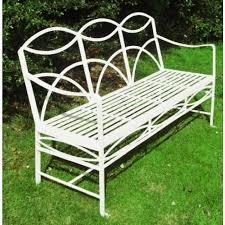 wrought iron garden furniture. Simple Garden Wrought Iron Garden Bench  Enlarge The And Furniture