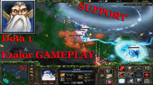 keeper of the light dota 1 ezalor support gameplay youtube