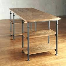 rustic wood office desk. rustic industrial office furniture home desk modern wood