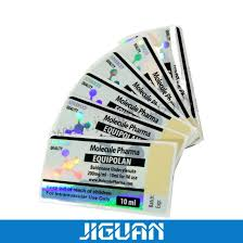 adhesive steroid 10ml vial labels