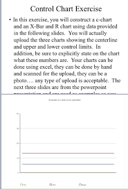 C Chart Example Solved Control Chart Exercise In This Exercise You Wil