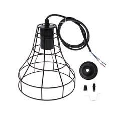 Light Bulb Lamp Shade Holder Details About Pendant Light Lamp Shade Light Bulb Holder Ornament For Home Cafe Bar Etc 3