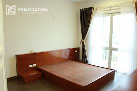 3 bedrooms. modern 119 m2 apartment with 3 bedrooms for rent in g2 tower, ciputra hanoi 5 0