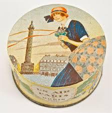 109: 1925 <b>Dorin Un Air de</b> Paris Powder Box - May 04, 2012 ...
