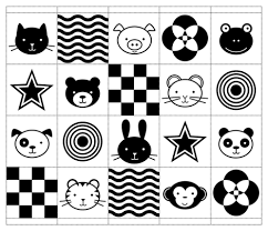 Black And White Patterns For Babies