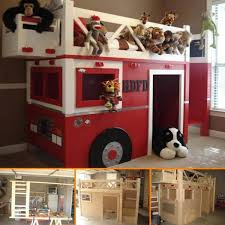 fire truck bunk bed praktic ideas
