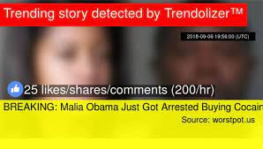 We did not find results for: No Malia Obama Was Not Arrested For Buying Cocaine