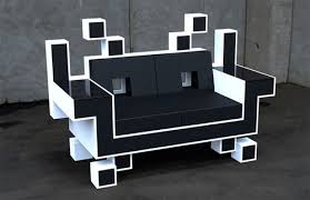 uncomfortable sofa. Wonderful Sofa Space Invaders Couch Looks Uncomfortable Throughout Uncomfortable Sofa O