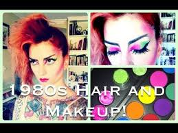 80s makeup tutorial courtesy makeupbylacy 1980s punk hair makeup tutorial by cherry dollface you
