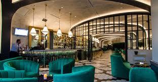Dallas Design District Restaurants Great Room Quill Lounge Delivers Glamour In Dallas Design