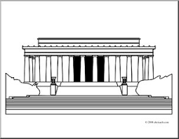 lincoln memorial building clipart. pin monument clipart lincoln memorial 9 building i