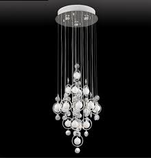 bubbles crystal chandelier