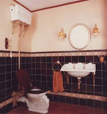traditional style antique white bathroom:  bathroom traditional with accent tile antique style image by celia james