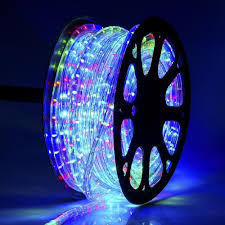 What To Do With Rope Lights 100 Meter Flexible Waterproof Rgb Red Green Blue Led Rope Light With Adapter Pack 0f 1