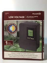 Outdoor Lighting Transformer Lighting Sterno Home Gl33050 Paradise 12v 50w Low Voltage
