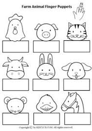 Best Photos Of Free Printable Farm Animal Puppets