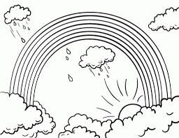 Small Picture Free Printable Rainbow Coloring Pages For Kids intended for Free
