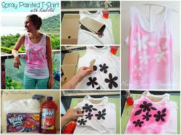 create fabulous effects with this kool aid spray painting technique
