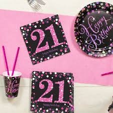 Party By Age Milestone Birthday Supplies Party Pieces