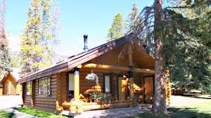 Small Picture Log Cabins in the Canadian Rockies YouTube